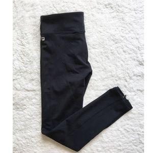 NWOT Fabletics High Waisted Zipper Leggings 7/8